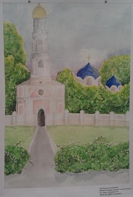 Нажмите на изображение для увеличения Название: Картина Кицканский монстырь.jpg Просмотров: 120 Размер:89.6 Кб ID:448