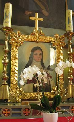 Нажмите на изображение для увеличения Название: Базилика Введения Пресвятой Богородицы - икона и цветок.jpg Просмотров: 26 Размер:79.7 Кб ID:532