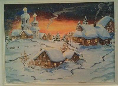 Нажмите на изображение для увеличения Название: Деревня в снегу.jpg Просмотров: 33 Размер:92.6 Кб ID:569