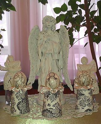 Нажмите на изображение для увеличения Название: Ангелы - ручная работа.jpg Просмотров: 144 Размер:96.8 Кб ID:497